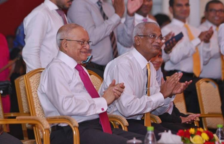 Former president Maumoon tests positive for COVID-19