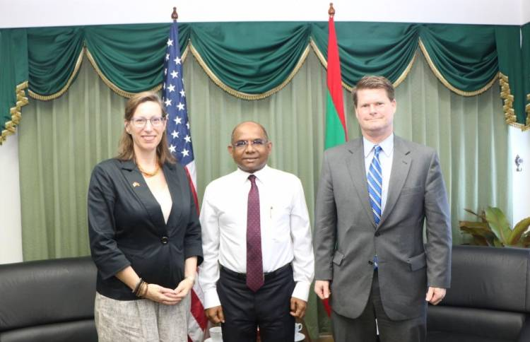US Ambassador discusses relations with Foreign Secretary