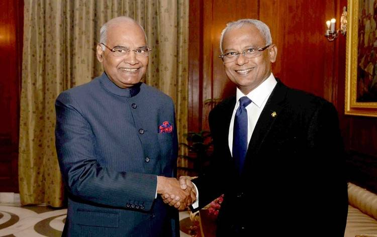 India grants financial support for several projects in Maldives