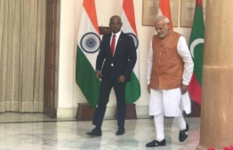Pres Solih congratulates Indian PM Modi on election win