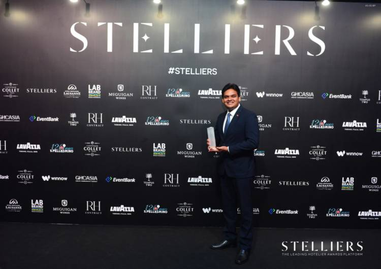 Adaaran Resorts Maldives' Tharaka Appuhamy bags Stellier Award in HR