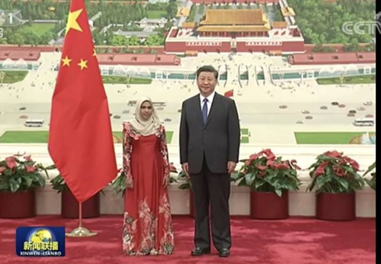 Maldives Ambassador to China presents credentials to President Jingping