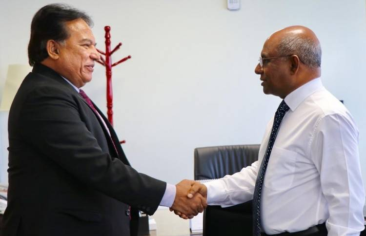 Sri Lankan Ambassador pays farewell call on Foreign Minister