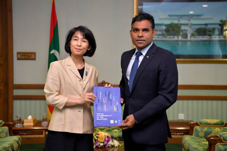 """Maldives could play guiding role internationally to ensure a more """"livable planet"""": Akiko Fujii"""
