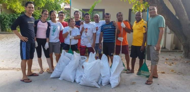 Earth Day at Kurumba Maldives 2019