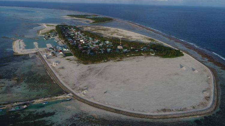 Three years after commencement, MTCC completes harbor project in Madifushi