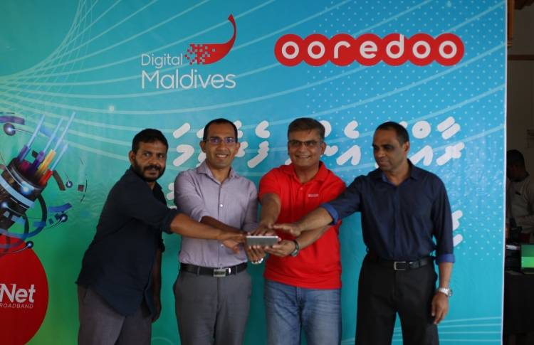 Ooredoo launches SuperNet Services in Fuvahmulah