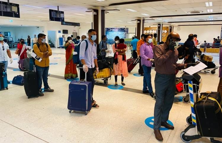 155 more Indian citizens repatriated from Maldives