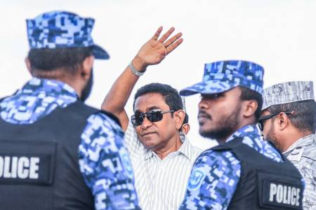 Jailed ex-pres charged with money laundering, bribery