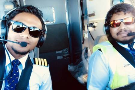 Zaffan: Youngest aviation Captain in Maldives