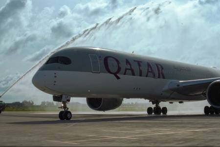 Qatar Airways lands first international flight after Maldives reopens borders