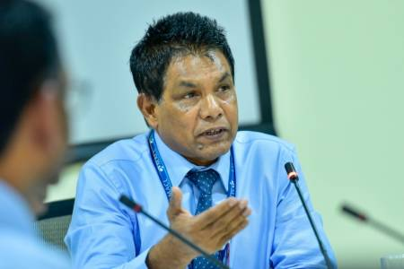 MACL's Acting Managing Director Moosa Solih retires