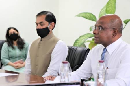 Govt kicks off 2 Hulhumale' projects under Indian grant assistance