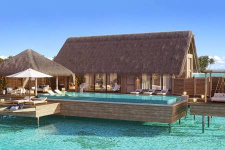 Sneak peek at soon to open Waldorf Astoria Maldives Ithaafushi