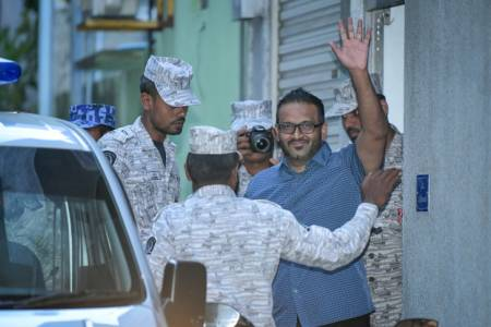 Ex-VP Adeeb escapes jail sentence over weapons possession