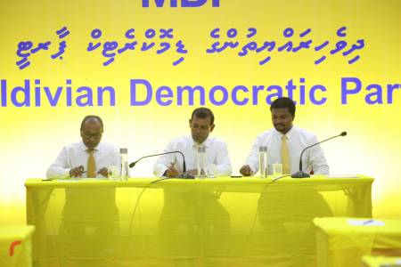 MDP's battle for speaker: PG nominates ex-president Nasheed