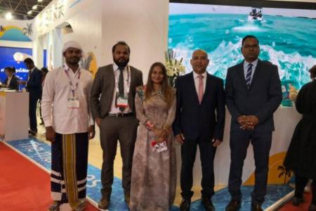 Maldives promotes at China Outboard Travel and Tourism Market