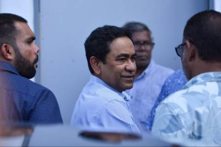 Ex-pres Yameen's trial commences, televised