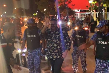 Ex-VP Adeeb extradited, brought to Police