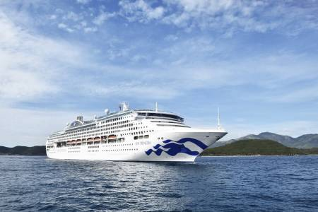 Sun Princess by Princess Cruises Arrives to Maldives