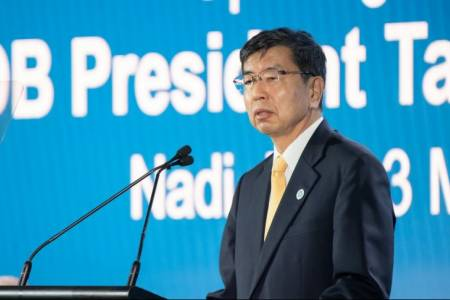 ADB President Nakao arrives in Maldives