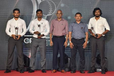 President Solih attends Milan Cricket Awards Night 2019