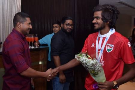 U18 Football squad to receive MVR 20,000 over SAFF Silver placement