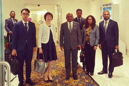 Foreign minister in Thailand; set to open Maldives embassy there