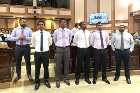 Three MPs asked to leave parliament chamber for creating disorder