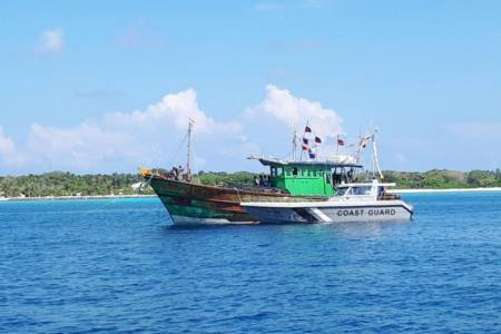 2 Indian fishing vessels intercepted inside EEZ