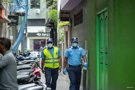 Over 100 police officers under quarantine