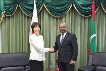 Japan extends emergency grant to the Maldives