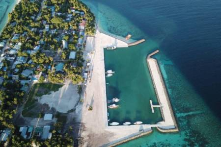 MTCC completes construction of Himandhoo harbor
