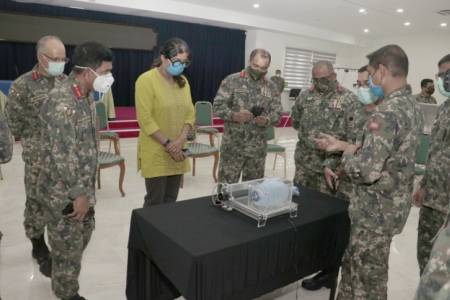 COVID-19: MNDF successfully develops prototype emergency ventilator