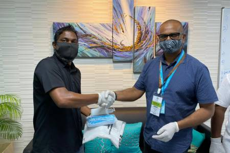 K-Park owner donates supplies to IGMH, MNDF