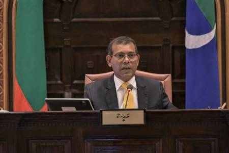 'Entire population is at risk of becoming infected': Nasheed