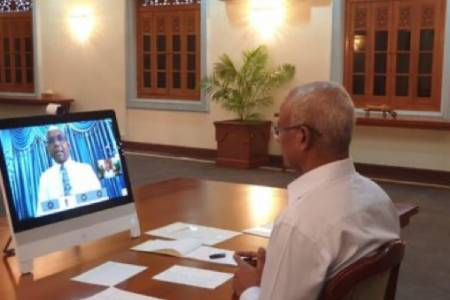 Maldives holds first online Cabinet meeting