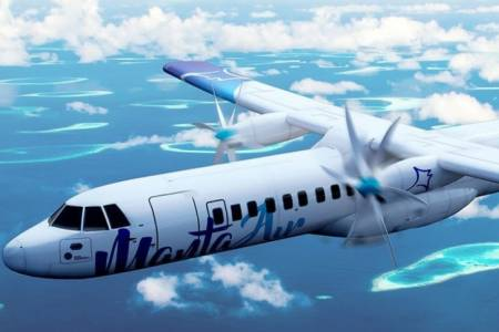 Manta Air begins operating flights to Dharavandhoo